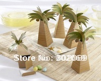 Retail palm tree Wedding Gift boxes,Wedding favor boxes 120pcs/lot
