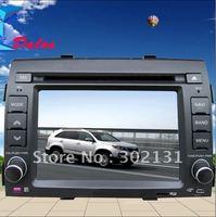 "2012 cheapest 6.2""kia sorento car DVD player with  GPS  Bluetooth Win CE6.0 128M memory Ipod Free Shipping"