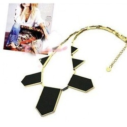Min order is 10usd (mix order ) geometric charm Necklacechoker necklace collar necklace . Free shipping(China (Mainland))