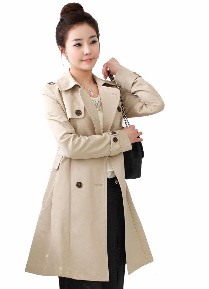2013 New Fashion Women Down Jacket Long Trench Coat Free