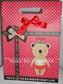 Free Shipping! Hot selling! Christmas &amp; Festival gift package, cute Fashionable gift paper bag, four size, 100 pcs/lot