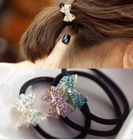 New Fashion For 2013 Small Bowknot Hair Jewelry Free shipping