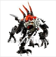 2012 new Robots block educational toys hero factory robots fighter hero 3 very good quality and strong fighter