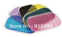 FreeShipping/EMS,WHITOUT PACKAGE,car sticky pad,Silica Gel Magic Sticky Pad Anti-Slip Non Slip Mat for cell Phone PDA mp3mp4
