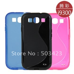 i9300 leather case,Wallet Book PU leather Case for samsung galaxy s3 i9300 free shipping