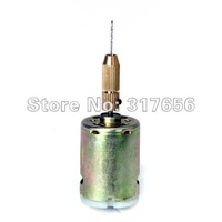 Free shipping,Mini 12V PCB Drill Press Drilling Bit with 0.8mm Drill