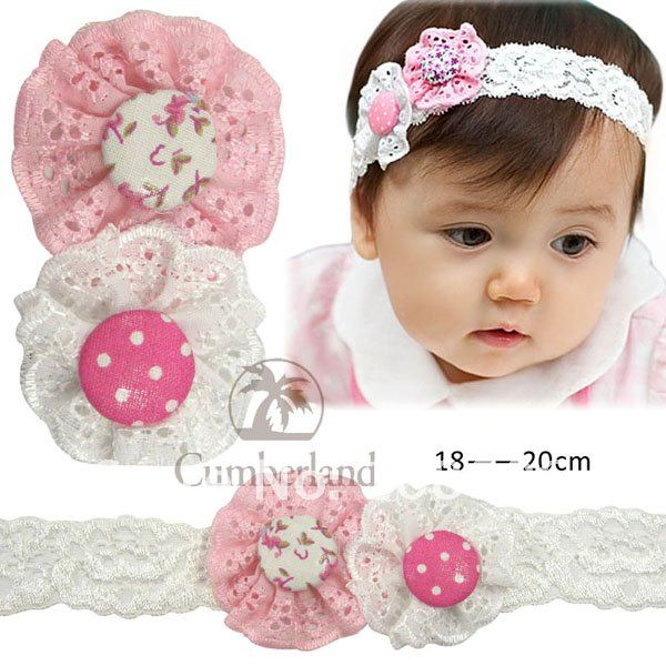 Free Shipping 15pcs Crochet Headbands hat+15pcs Gerbera Daisy Flowers/Baby Hairbows,Headbows 10 colors can be choosen