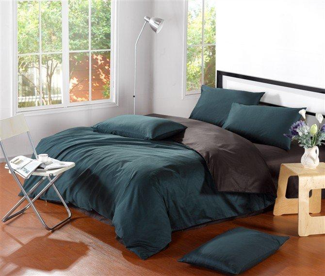 Dark green comforter promotion online shopping for - Dark green comforter sets ...