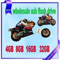 5pcs/lot wholesale  motorcycle style  4GB 8GB 16GB 32GB USB flash drive   usb flash memory