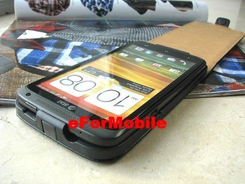 Slim Flip Mobile Phone Case PU Case  for HTC One X S720E AT&T