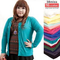 16 colors size:L,XL,2XL,3XL,4XL 2013 new fashion summer autumn winter cardigan jacket women plus size tops large sweaters