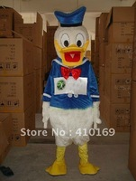 New Arrival Donald Mascot Costume Donald Duck Mascot Coctume Christmas Costume Birthday Party Dress Free Shipping