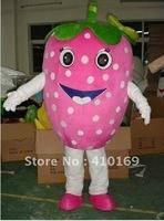strawberry fruit Mascot Costume Fancy Dress , factory direct,free shipping