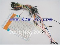 83mmX55mm   Mini Solderless Breadboard    with Jump Wires Project Bread Board Jumpwires,ICs& Free shipping