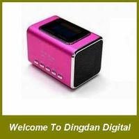 Free shipping 100% Music Angel speaker,JH-MD05X speaker  + 8gb TF card + reader card,D069