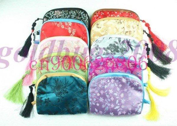 Wholesale 15 clothes bag of COINS manual silk purse camera bag(China (Mainland))