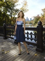 2013 New Arrival ! Free Shipping!sweet neckline satin pleated knee-length satin custom-made bridesmaid dress