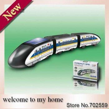 New! Solar Bullet Train Solar toys Educational DIY Solar Kit Free Shipping!!  202916