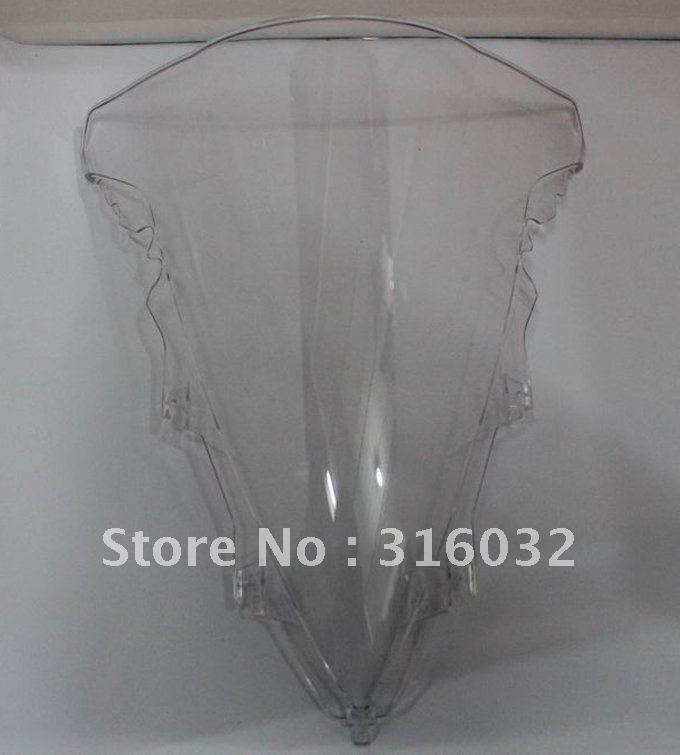 Wholesale Clear Windshield For YAMAHA YZF R1 09 10 sportsbike Free shipping(China (Mainland))