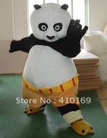 Lovely Version KungFu Panda Mascot Costume Animal Cartoon Costume Adult Size NEW Free Shipping