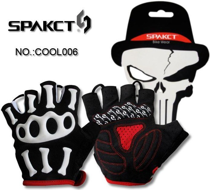 Spakct fashion cartoon style bicycle bike Riding driving cycling sports gloves half finger for child young children