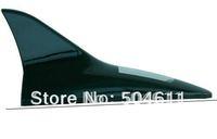 Free shipping YiTao (TM) White Light Shark Fin Antenna Solar Power Anti-tailgate 6 LED Alarm Flash Car Light