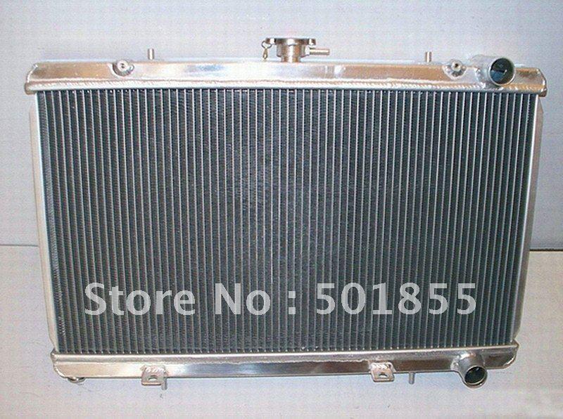 Fit for NISSAN 240SX 89 KA MANUAL aluminum racing car radiator(China (Mainland))