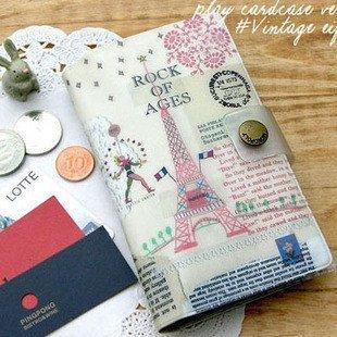 Freeshipping!!Wholesale,New Creative Travel storage bag/European style card bag