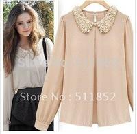 New style spring clothing Occupational temperament women's dress chiffon shirt shirts n426-a 321#