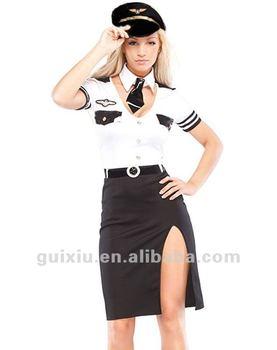 Sexy Airline Pilot Costume