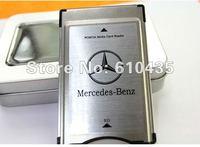 PCMCIA Media card reader SD card to PCMCIA card adapter support 2G-32G for Mercedes-Benz E300 E260 E200 MP3 memory