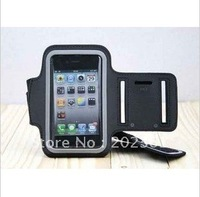 50pcs/lots Sports Running Arm Armband case protect for iPhone 4S 4 4G 3GS