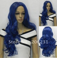 Cheap Blue Hair Girl Cosplay Wigs (Free Shipping)