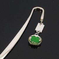 SILVER diamond leaf LETTER OPENER/BOOKMARK 016