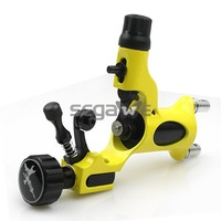 HYBRID Rotray Tattoo Machine Gun Adjustable Dragonfly Style Shader&Liner Yellow