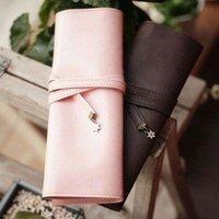 Free shipping 3pcs/lot Retro pen bag, twilight  pencilcase ,cosmetic bag,2Colors Mixed