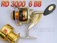 5BB 5.1:1 RD3000 Front Drag Fishing Reels Cast Aluminium Spool Spinning reel