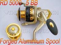 RD4000 Series Front Drag Fishing Reels Cast Aluminium Spool Spinning reel