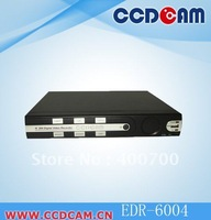 High quality  H.264 4CH Stand alone DVR cctv dvr realtime recording DVR on promotion EDR-6004