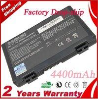 New laptop battery for Asus F52 F82 K40 K50 K40E K51 K60 K70 Series,90-NVD1B1000Y A32-F52 A32-F82 6CELLS