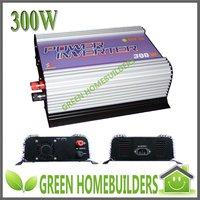 CE certificate, 300W  MPPT Function  Grid Tie Solar Inverter , DC 10.8-30V/22-60V input