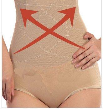 Super-elevation waist abdomen drawing pants body shaping butt-lifting pants waist support beauty care panties abdomen WU5193