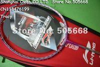 New arrival 2012 Lining N80 Pink Badminton Racket,badminton racquet