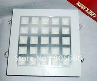 Free shipping 2000LM 25W LED grille lamp LED Lattice lighting LED  AC85~265V