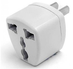 High QualityNew Universal EU/UK/CN/AU to US USA Travel Charger Adapter Plug Outlet Converter Free shipping DHL UPS HKPAM(China (Mainland))