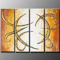 New style and Many Styles Charming Art Modern 100% Handicraft Abstract Art Wall Decor Landscape Oil Painting On Canvas B131