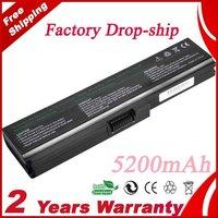 Free Shipping PA3634U PA3635U PA3636U Laptop Battery for Toshiba Satellite L515 L650 Equium U400 Portege M800 Satellite M300
