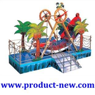 Nieuwe!!! Pretpark apparatuur piratenschip, speeltoestellen