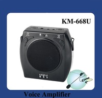 DHL Free Shipping 15W Fashion Mini amplifier With USB Slot  (KM-668U)