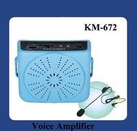 DHL Free Shipping  Portable Amplifier 15W KM-672